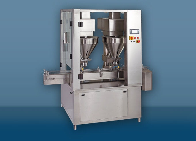 Linear Dry Syrup Powder Filling Machine